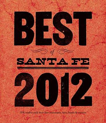Santa Fe Reporter Best of Santa Fe 2012
