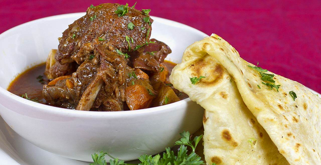 Jambo Café Goat Stew