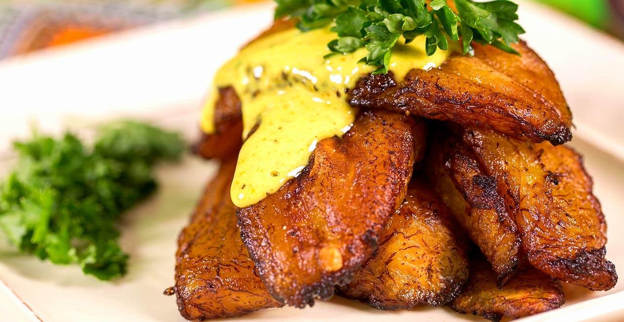 Plaintains at Jambo Café African-Caribbean Fusion